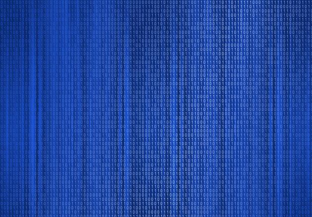 Duke Blue Binary Code