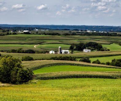 Iowa farm land