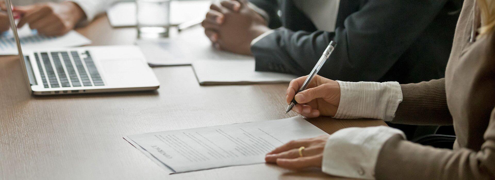 Kelcey Patrick-Ferree Law Iowa Minnesota Contracts Licensing header