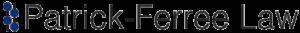 Kelcey Patrick-Ferree Law header logo