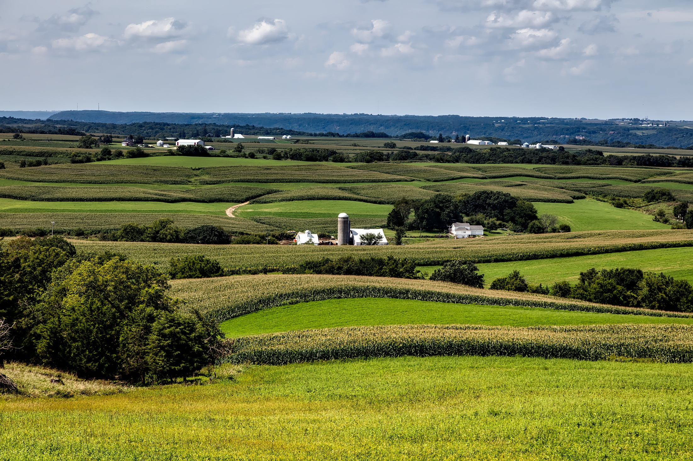Iowa farm land is subject to eminent domain under specific circumstances.